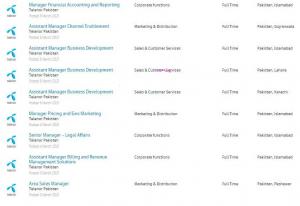 13879 Telenor Pakistan Jobs 2021 March Advertisement – Apply Online at Telenor.com